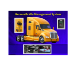 Kenworth Idle Management System Cools Drivers Without Idling, Saves Fuel