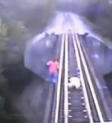 Video: Train Runs Over Two Women, and They Survive